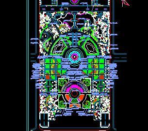 植物园绿化种植规划设计图纸