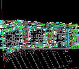 10716平米住宅区绿化规划设计图纸