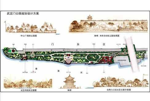 国外表现图设计手绘图免费下载 - 园林景观效果图