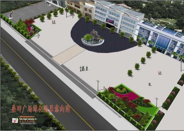 小广场景观设计