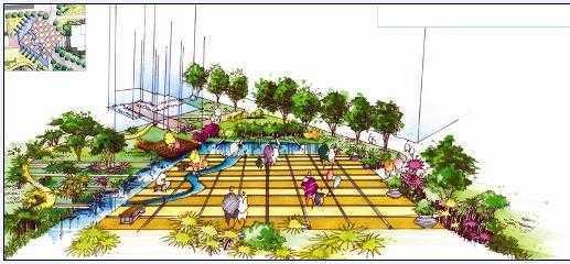 万成家天下小区景观规划设计方案