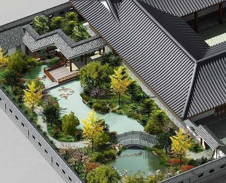 某私家花园设计效果图
