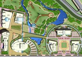 会展中心规划设计平面图