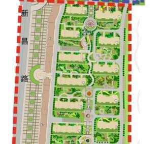某住宅小区景观设计方案