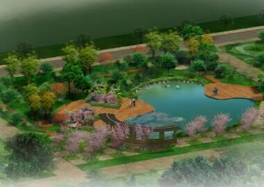 水景景观设计文本免费下载 - 园林景观效果图 - 土木