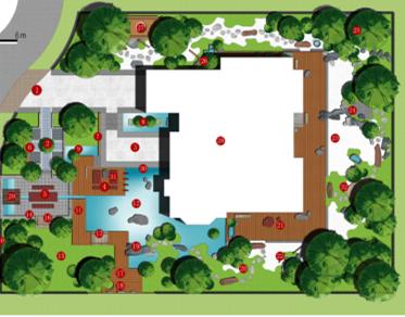 某别墅庭院景观设计方案