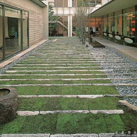园林道路铺装铺装免费下载 - 园林景观素材 - 土木