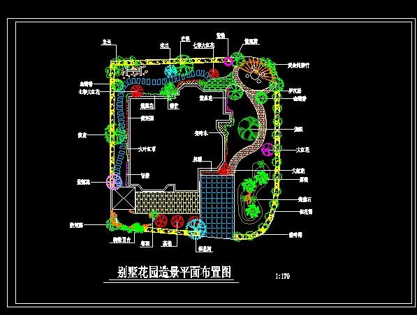 平面别墅造景时光布置图免费下载综艺卫视别墅江苏花园图片