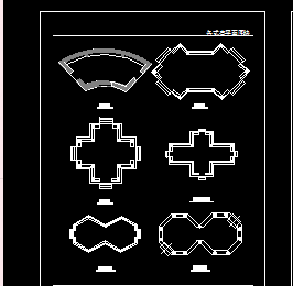 CAD古典亭子素材