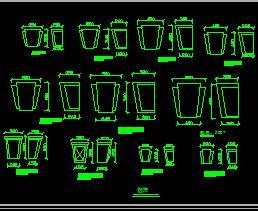 CAD欧式构件图库