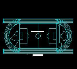 体育类场地CAD平面图块