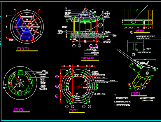 景观工程小品设计详图
