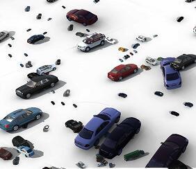 上百种车辆PSD素材源文件
