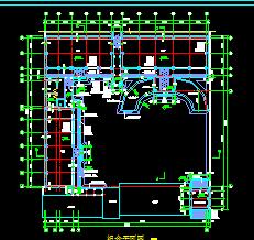 详细的仿古四合院建筑设计图纸