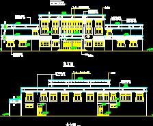 藏族医院建筑设计图纸