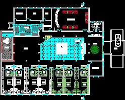 徽派酒店建筑设计图纸