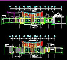 丽江怡榕庄酒店建筑设计图纸