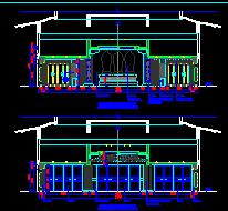 仿古寺庙建筑施工图纸(含效果图及预算表)