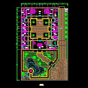 四合院建筑设计图纸