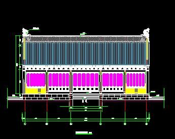 州署衙门复建工程古建筑全套施工图纸(含建筑结构水电)