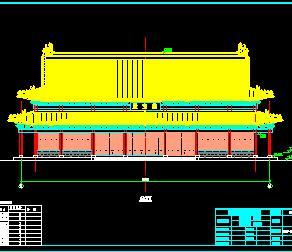 某寺庙大雄宝殿古建筑结构施工图纸