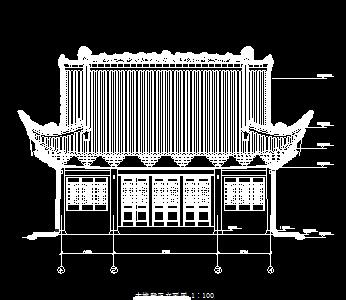 某寺庙维修工程古建筑施工图纸