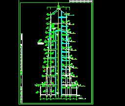 某九重塔古建筑施工图纸