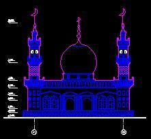 某清真寺教堂古建筑施工图纸(含电气采暖)