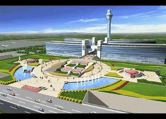 广州新机场效果图