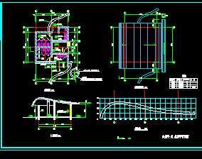 某公园卫生间施工图