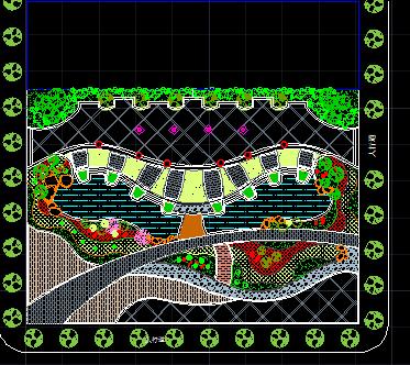 广场景观设计图