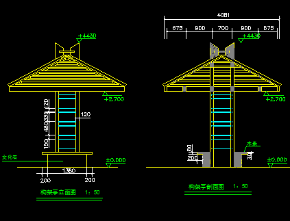 木景亭设计图纸