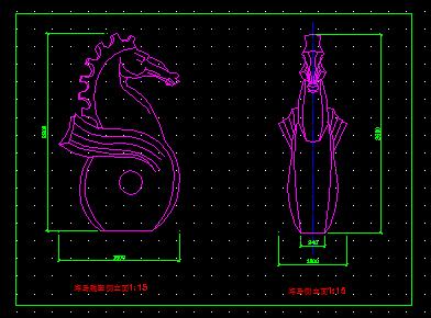 海马海螺雕塑施工大样图