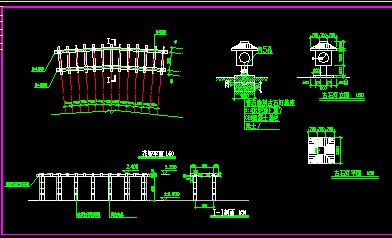 园林花坛、牌楼施工详图