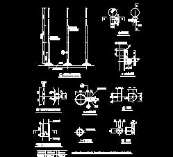 CAD标志设计大样图