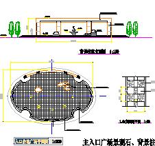 CAD小品详图