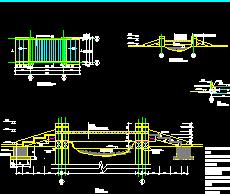 木平桥设计图纸