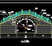 石拱桥设计图纸