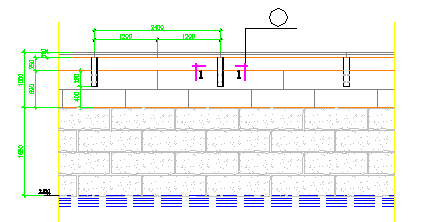 沿河护栏施工设计图纸