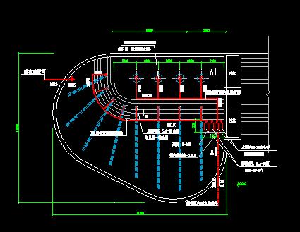 喷水池管线施工图纸