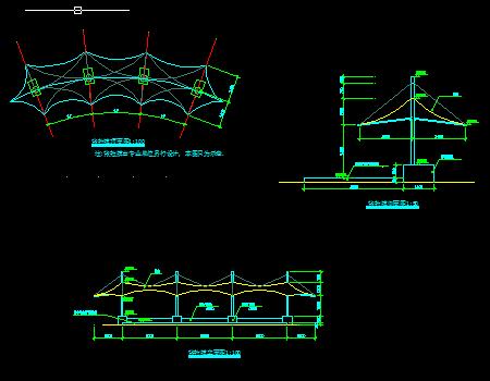 张拉膜设计施工图