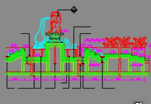 景观园林跌水叠泉施工详图(共40项)