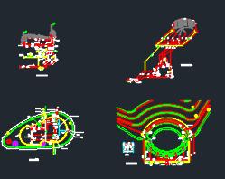 景观园林控制设备施工图(含16个)