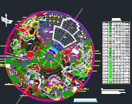 景观园林绿化配置施工图(含6个)