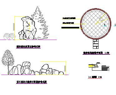 10套假山石阵园林设计图纸合集