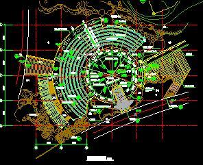 某中心广场景观设计图纸