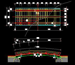 10个园林景观桥设计图纸