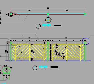 23个园林栏杆护栏设计图纸