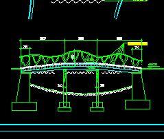 某仿藤桥构造设计图纸