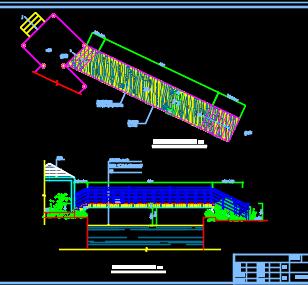 钢结构栈桥设计图纸